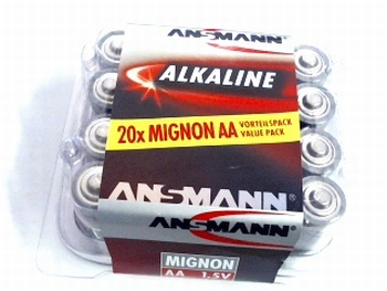 20-pack mignon batteries
