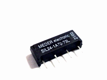 Reed relay MEDER SIL24-1A72-73L 24VDC
