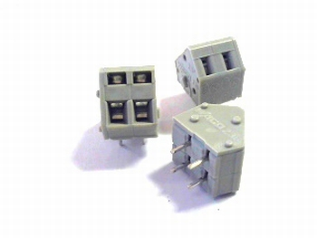 2 way clamping terminal block RM 5
