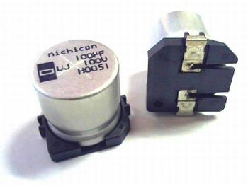 SMD ELCO 100uF 100V