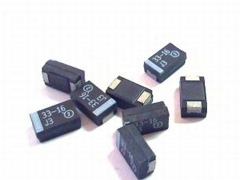 SMD Tantal capacitor 33uf 16V