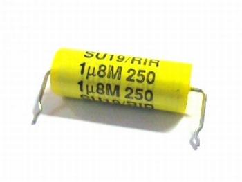 Condensator 1,8uF 250V Type SU19/RIR