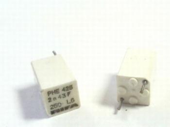 Condensator 2nf polypropyleen RIFA