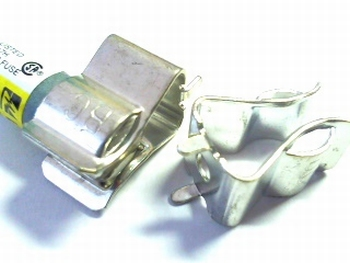 Midget fuse clip