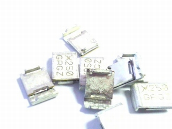 SMD205-2 PTC resettable fuse 2.5A 15V SMD