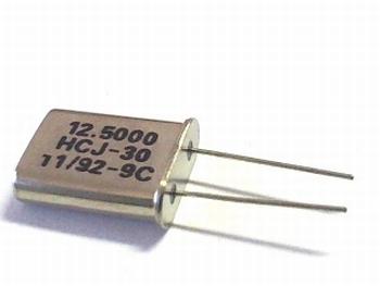 Quartz kristal 12,5000 mhz