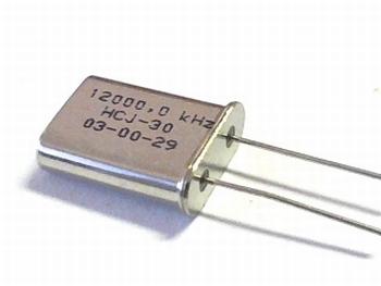 Quartz crystal 12 mhz HC18