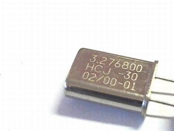 Quartz crystal 3,2768 mhz
