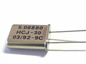 Quartz crystal 5,06880 mhz