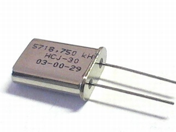 Quartz crystal 5,718750 mhz
