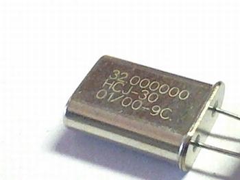 Quartz crystal 32 mhz