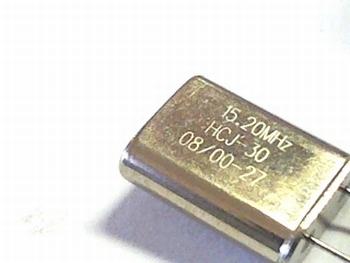 Quartz kristal 15,20 mhz