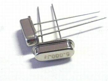 Quartz crystal 5 mhz