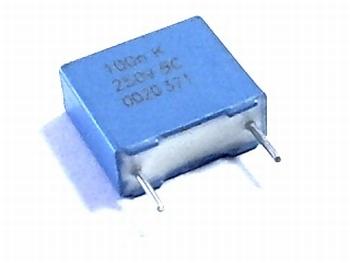 MKT Condensator 100nF 250 volt RM8