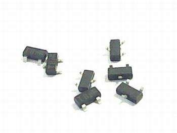 BSR16 transistor SMD