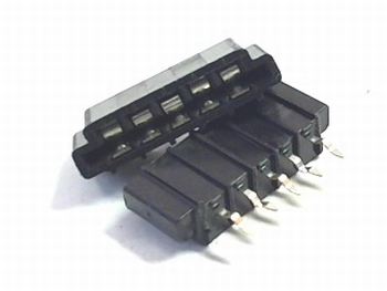 FFC / FPC connector 5 pins 2,54mm.