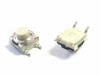 Mini push switch white SMD