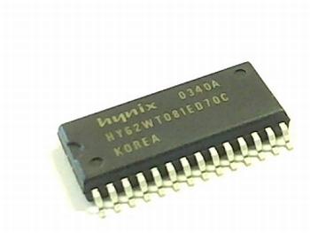 HY62WT08081E-DG70CDR SRAM