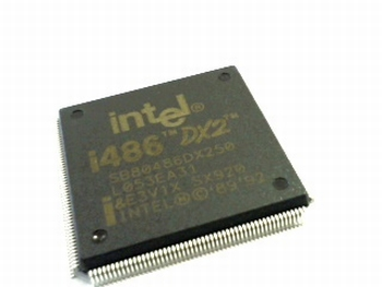 SB80486DX250 CPU Intel I486 DX2