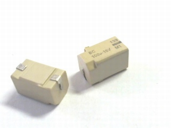 SMD electrolytic capacitor 100uF 16V