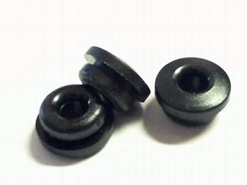 Rubberen doorvoertule 9mm