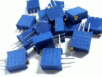 High precision variable resistors kit 15 pieces