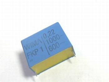 Condensator FKP1 0,22uF 20% 1000V