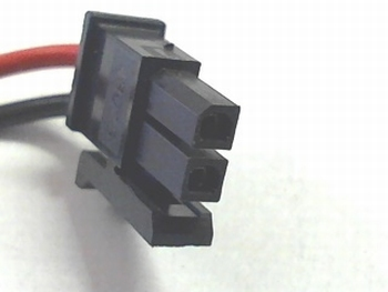 10 X 2 way molex connector RM2.54