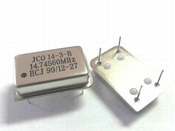 Quartz crystal oscillator 14,31818 mhz