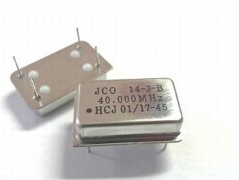 Quartz kristal oscillator 40 mhz