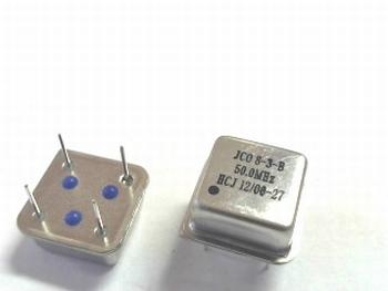 Quartz crystal oscillator 50 mhz square