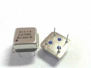 Quartz kristal oscillator 2,4576 mhz vierkant