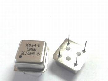 Quartz kristal oscillator 8 mhz