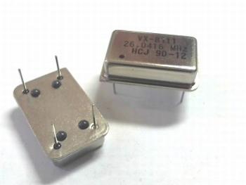 Quartz kristal oscillator 26,0416 mhz