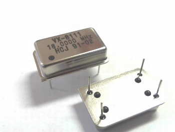 Quartz kristal oscillator 18 mhz