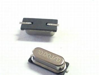 Quartz kristal SMD 10 mhz SMD HC49 behuizing
