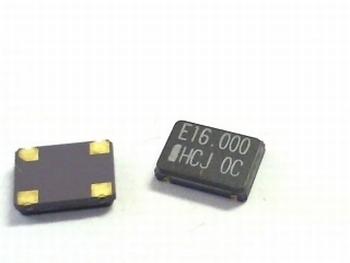 Quartz crystal oscillator SMD 16 mhz