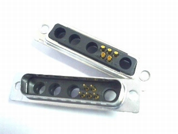 Sub D 9W4 connector 5 polig male DB9W4PA00