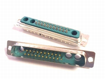 Sub D connector 22 pins male DC25W3PA00