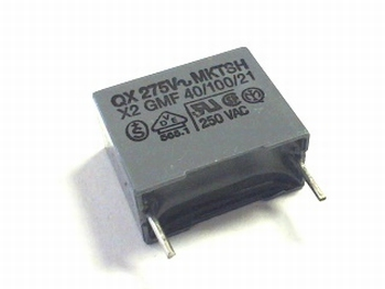 Capacitor 150 nF 250 volts