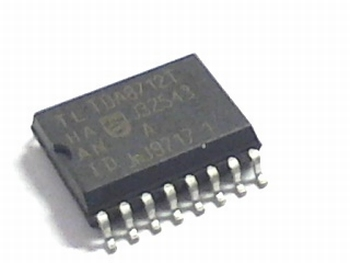TDA8712 8-bit digital-to-analog converter 16 pins SMD
