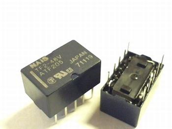 Relay TF2- 48V  DPDT