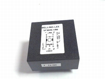 Mains filter SF3020-1-08 Belling Lee