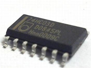 74HC03D QUAD NAND GATE