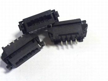 FFC / FPC connector 4 polig 2.54RM