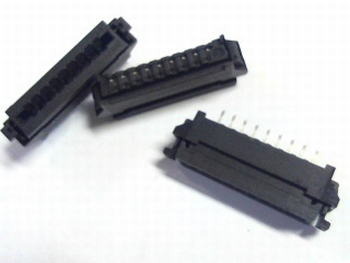 FFC / FPC connector 9x 2.54RM Molex
