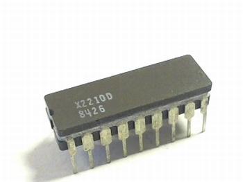 X2210D Non-Volatile (NVRAMs) Static RAM