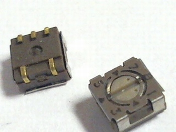 Rotary switch SMD 7744J-1-008E van Bourns