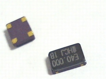 Quartz crystal oscillator SMD 40mhz