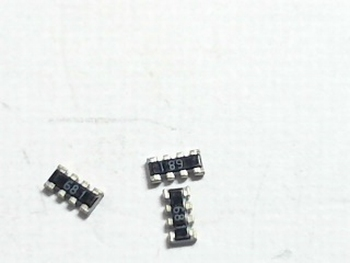 SMD Resistor netwotk 4x 680 Ohms
